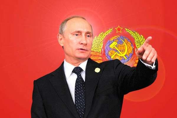 Владимир Путин връща мощта на Русия като част от СССР